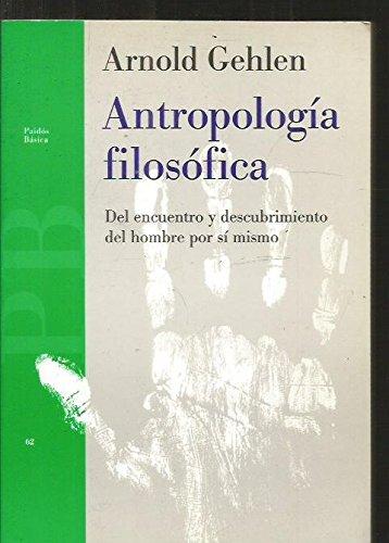 Antropologia filosofica: Arnold Gehlen