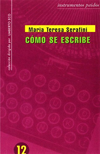 9788475099989: Como se escribe / As It is Written (Spanish Edition)