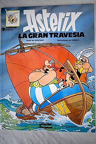 9788475101422: Asterix - La Gran Travesia (Spanish Edition)