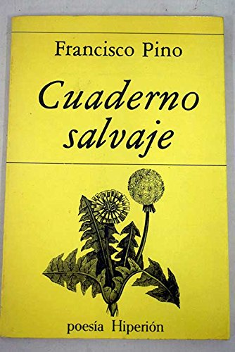 9788475170930: Cuaderno salvaje (Poesia Hiperion) (Spanish Edition)