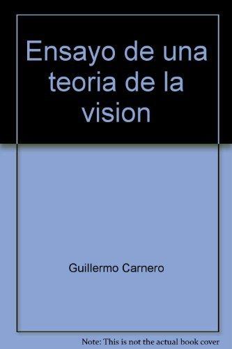 9788475171012: Ensayo de una teoría de la visión: Poesía, 1966-1977 (Poesía Hiperión) (Spanish Edition)