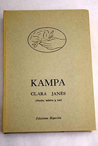 9788475171821: Kampa: poesía, música y voz