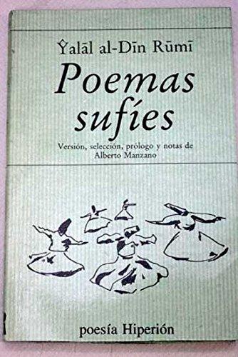 9788475172279: Poemas sufíes: Versión, selección, prólogo y notas de Alberto Manzano (Poesía Hiperión) (Spanish Edition)