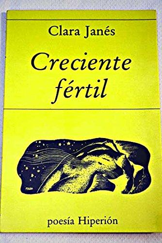 9788475172804: Creciente fertil (Poesia Hiperion) (Spanish Edition)