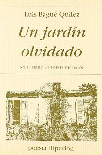 9788475175089: Un Jardin Olvidado (Spanish Edition)