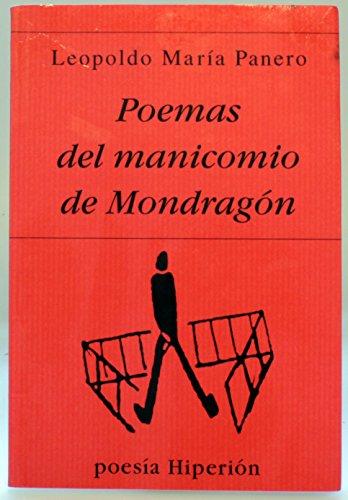 9788475175133: Poemas del manicomio de Mondragón (Poesía Hiperión)