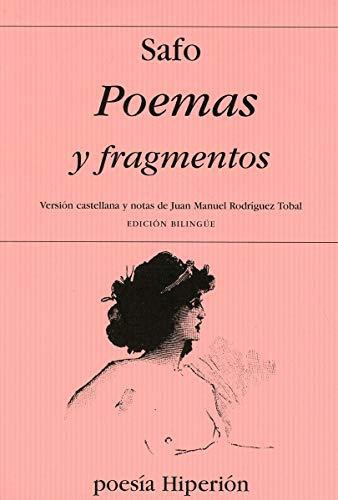 9788475175287: Poemas y fragmentos (Poesía Hiperión)