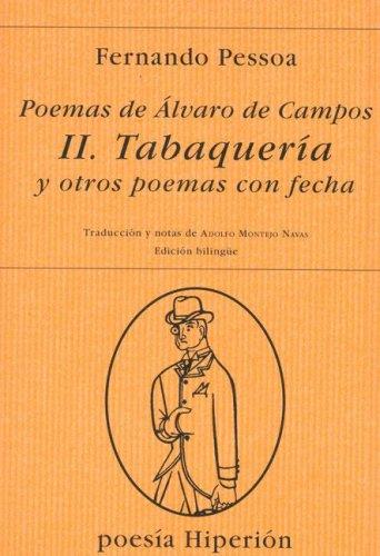 9788475175799: Tabaqueria y Otros Poemas Con Fecha (Spanish Edition)