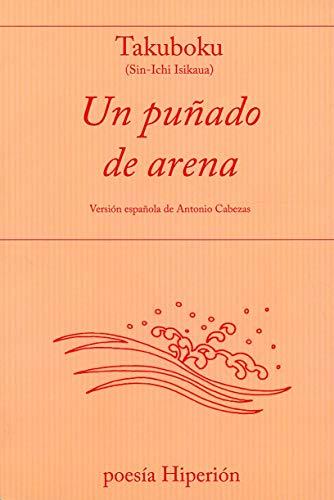 9788475176789: Un puñado de arena (Poesía Hiperión)