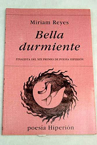 9788475178011: Bella durmiente (Poesía Hiperión)