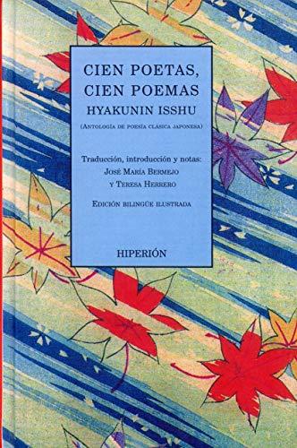 9788475178066: Cien poetas, cien poemas: Hyakunin isshu (antología de poesía clásica japonesa) (Poesía Hiperión)