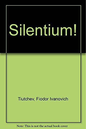 9788475178660: Silentium! (Poesía Hiperión)