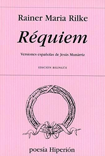 9788475179209: Réquiem: Versiones españolas de Jesús Munárriz (Poesía Hiperión)