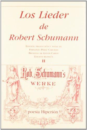 Los lieder de Schumann