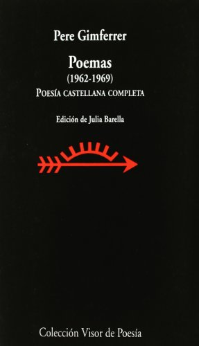 9788475220116: Poemas 1962-1969 (Spanish Edition)