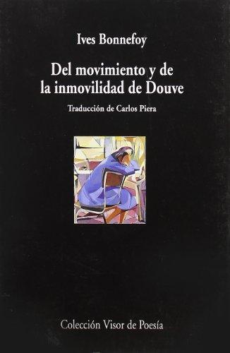 9788475220826: Del movimiento y de la inmovilidad de Douve