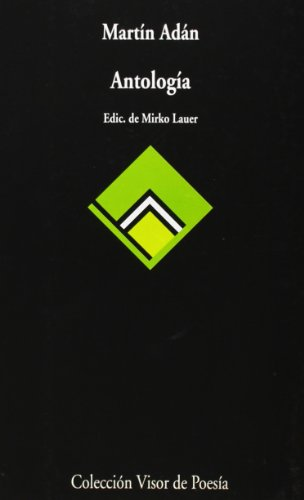 9788475222349: Antologia (Coleccion Visor de poesia) (Spanish Edition)