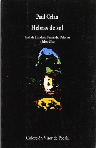 9788475222462: Hebras de sol (Visor de Poesía)