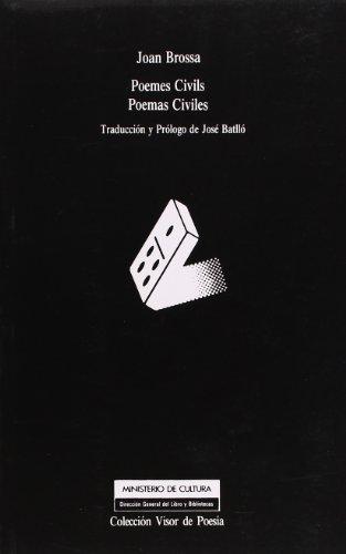 9788475222486: Poemes civils =: Poemas civiles (Coleccion Visor de poesia) (Spanish Edition)