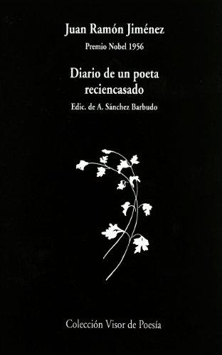 9788475223179: Diario De Un Poeta Recién Casado: Premio Nobel 1956 (Visor de Poesía)