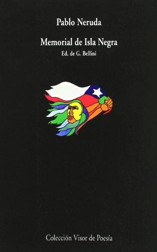 9788475223247: Memorial de Isla Negra (Visor de Poesía)