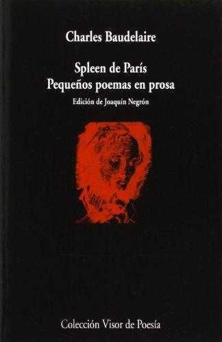 9788475223773: Spleen de Paris (Spanish Edition)