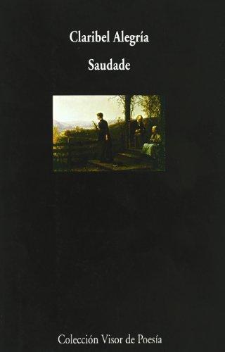 9788475224206: Saudade (Coleccion Visor de poesia) (Spanish Edition)