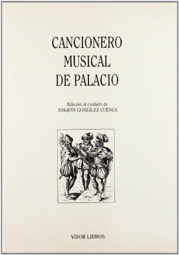 9788475224657: Cancionero musical de palacio (Biblioteca Filologica Hispana) (Spanish Edition)