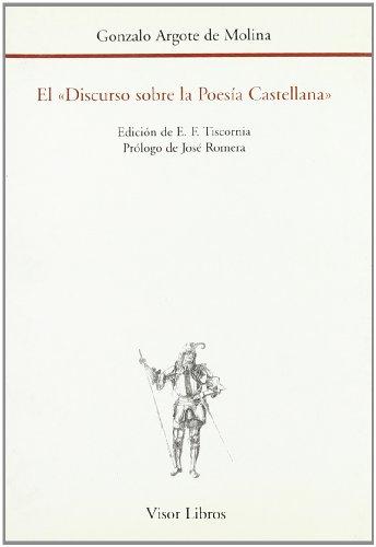 9788475224718: El discurso sobre la poesia castellana (Biblioteca filologica hispana) (Spanish Edition)