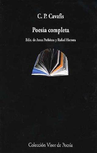 9788475225289: Poesia Completa (Kavafis)