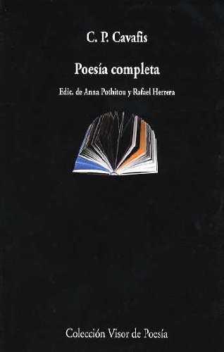POESIA COMPLETA: CAVAFIS, Constantino (Konstantino