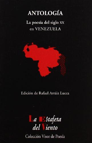 9788475225432: Antologia - Poesia Venezolana (Spanish Edition)