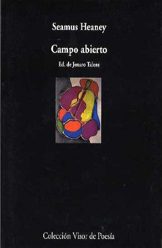 9788475225661: Campo abierto / Opened country: Antología poética (Visor de Poesía)