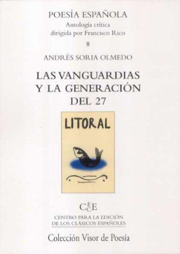 9788475227290: Las Vanguardias y la Generación del 27 (Poesía Española)