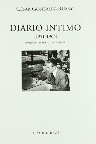 Beispielbild für González-Ruano, C: Diario íntimo zum Verkauf von Blackwell's