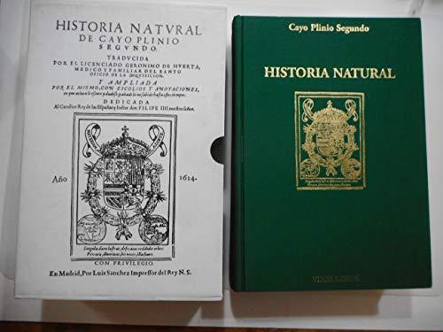 9788475228389: Historia natural,