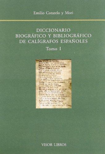 9788475229058: Diccionario biografico y bibliografico