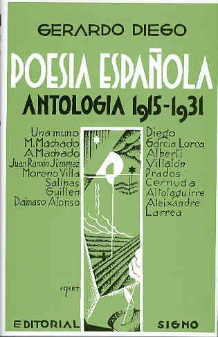 9788475229478: Poesia española antologia 1915-1931