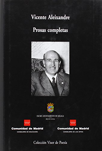 Poesías completas (Paperback): Vicente Aleixandre