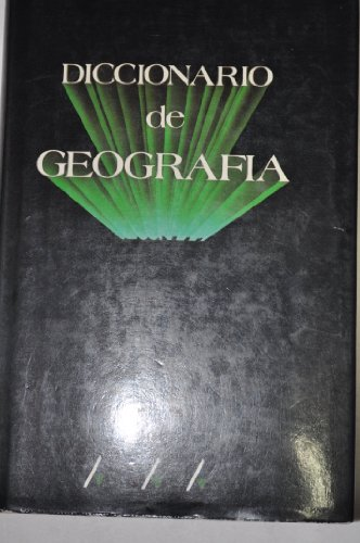 Diccionario de Geografia (Spanish Edition): Fontanillo Merino, Enrique