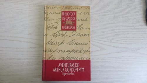 Aventuras de Arthur Gordon Pym: Poe, Edgar Allan