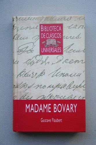 9788475300337: Madame Bovary