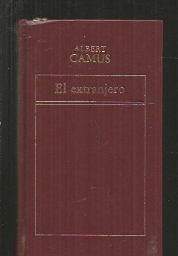 9788475300610: EL EXTRANJERO [Hardcover]