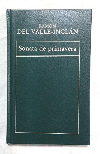 9788475300818: SONATA DE PRIMAVERA