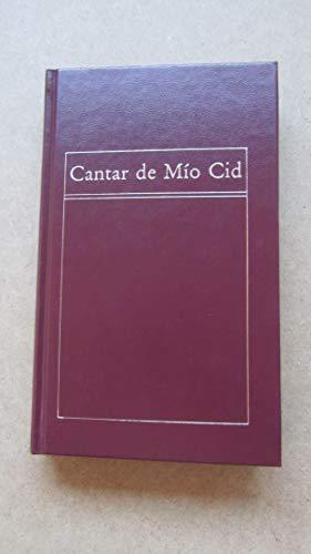 9788475301280: Cantar de mío Cid