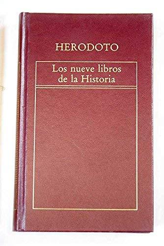 9788475301297: Los nueve libros de la historia (Antología)