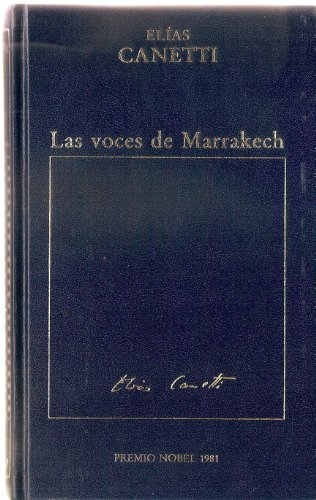 9788475301860: LAS VOCES DE MARRAKECH