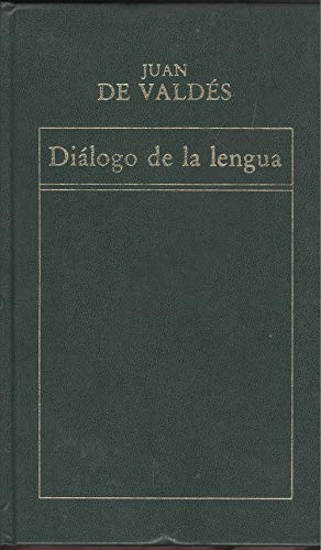 9788475302690: Diálogo de la Lengua (Historia de la Literatura Española)