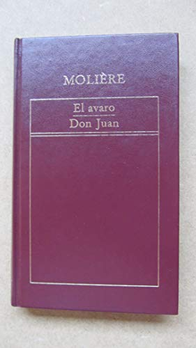 9788475302881: El avaro: Don Juan