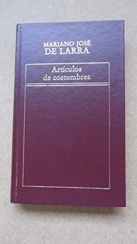 9788475304199: ARTÍCULOS DE COSTUMBRES